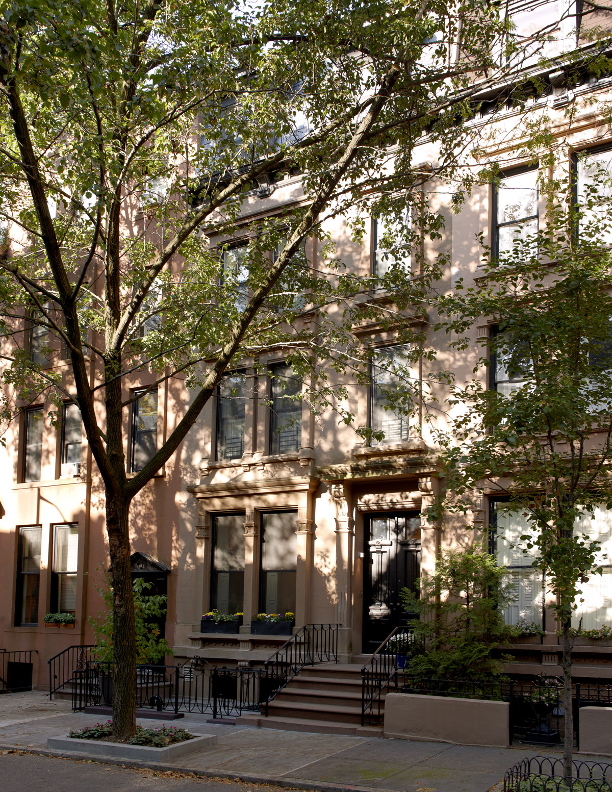 brooklyn heights brownstone facade