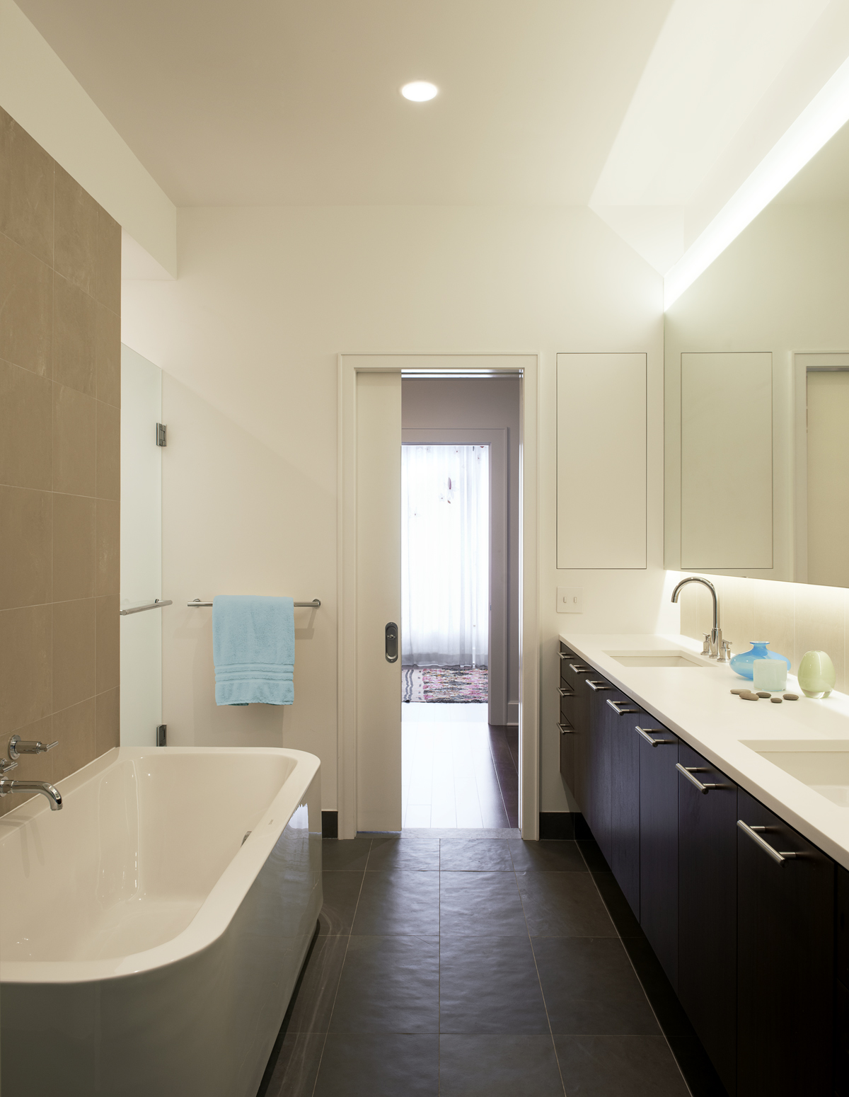 brooklyn heights brownstone modern bathroom
