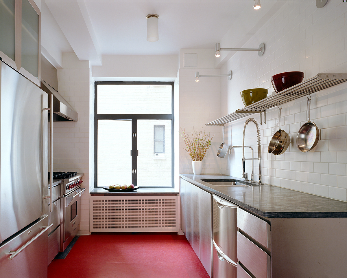 Central Park West apartment's kitchen