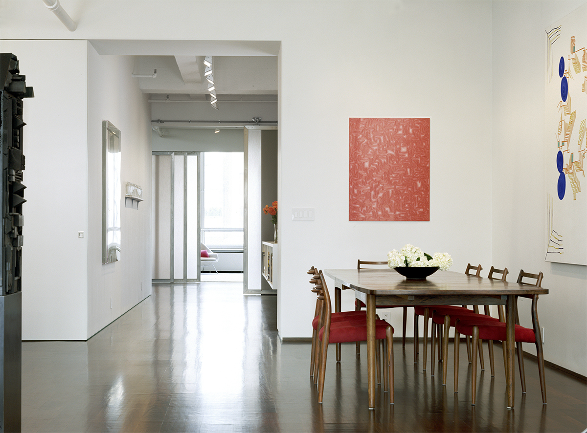 combining Chelsea lofts by new york architects