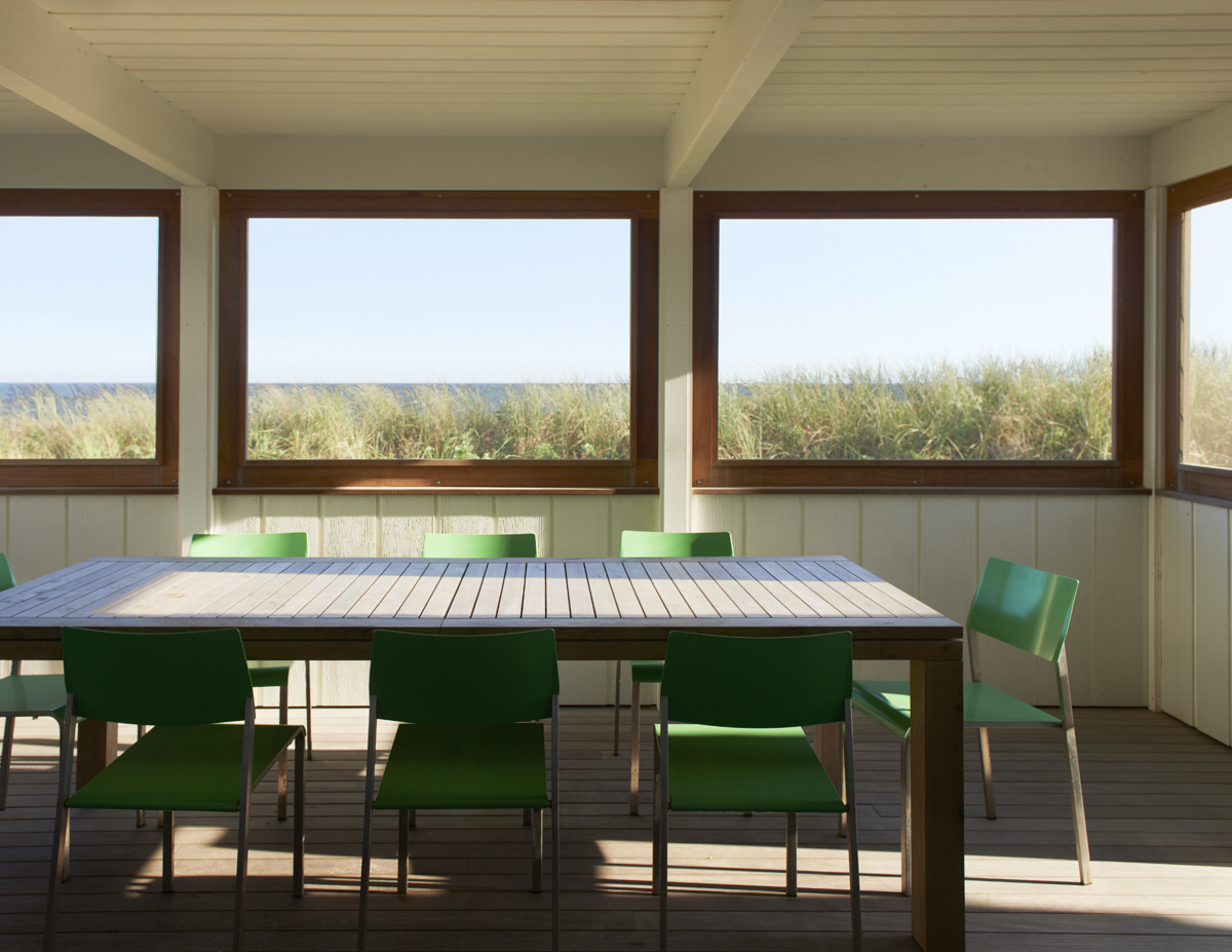 fire island house sun room