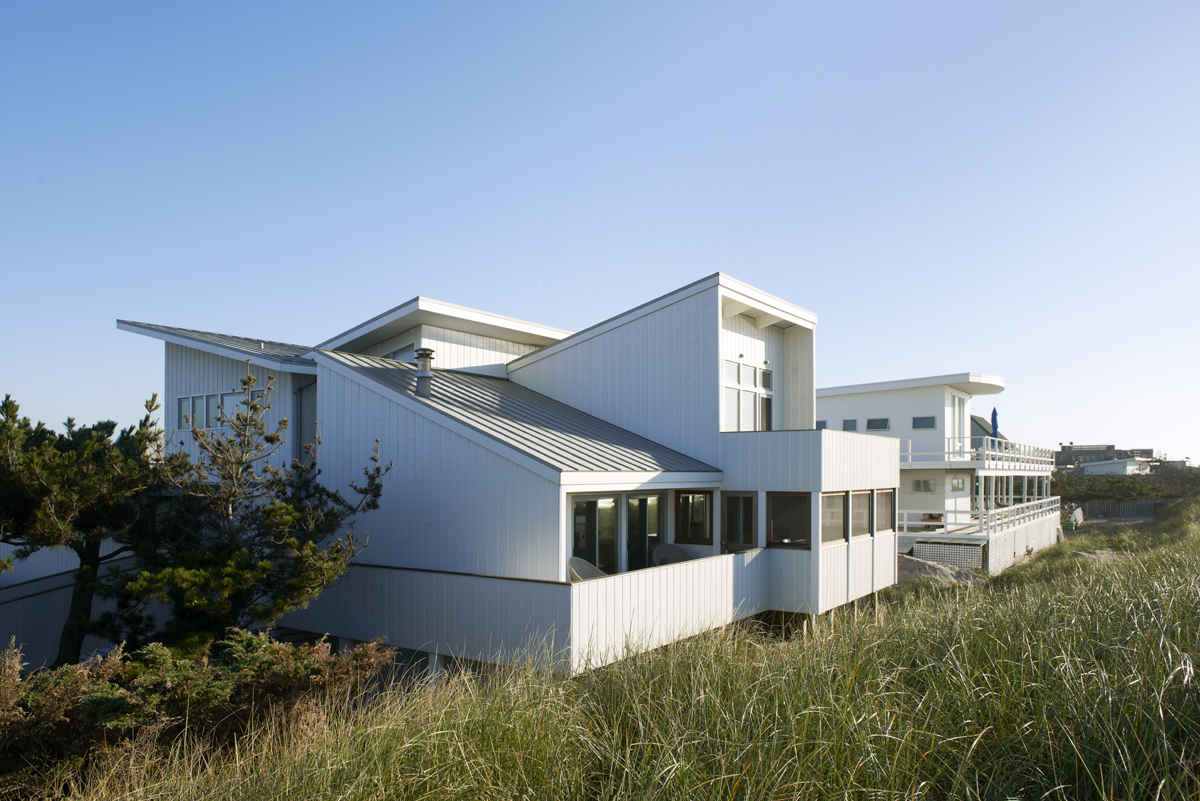 Fire Island beach house architecture