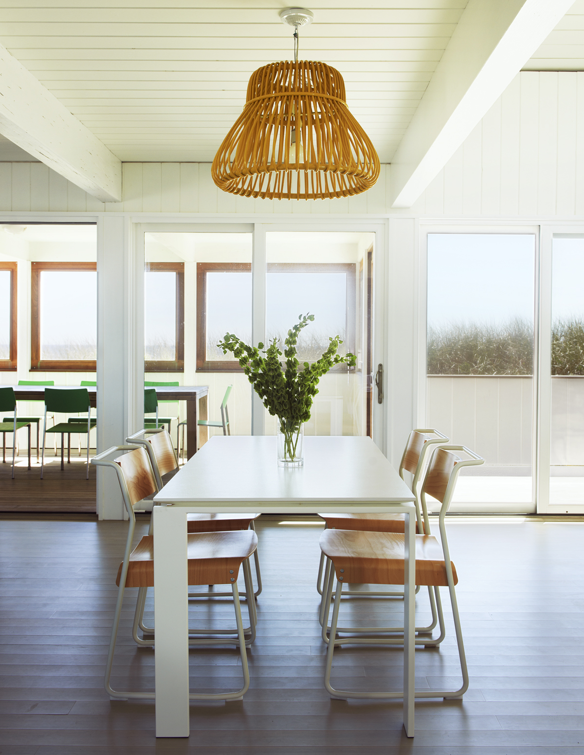 fire island house dining room