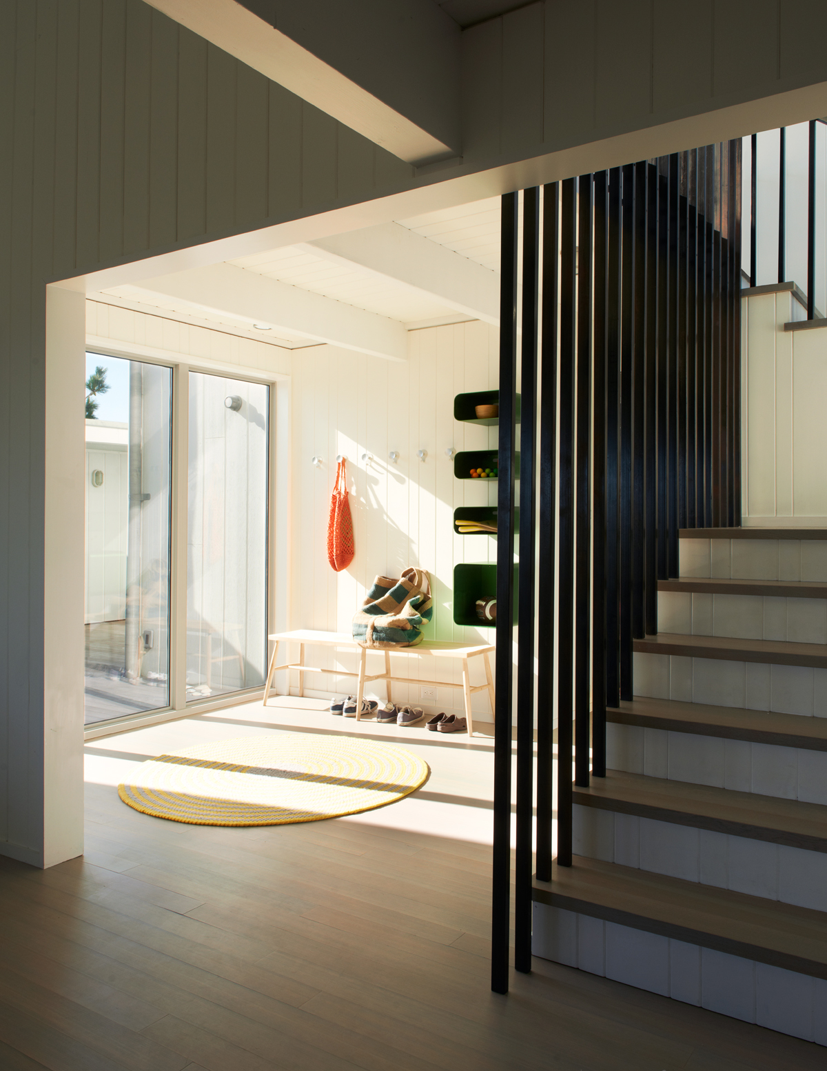 fire island house stair