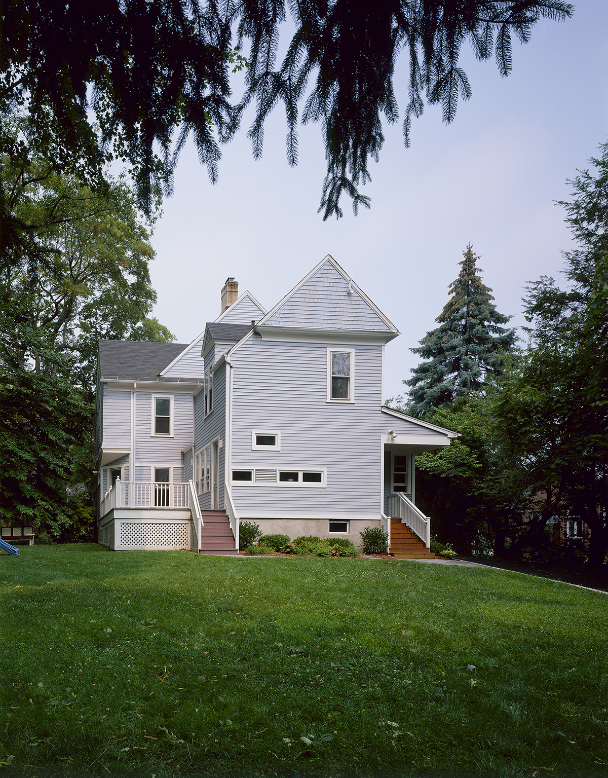 photo of addition to this house in Montclair