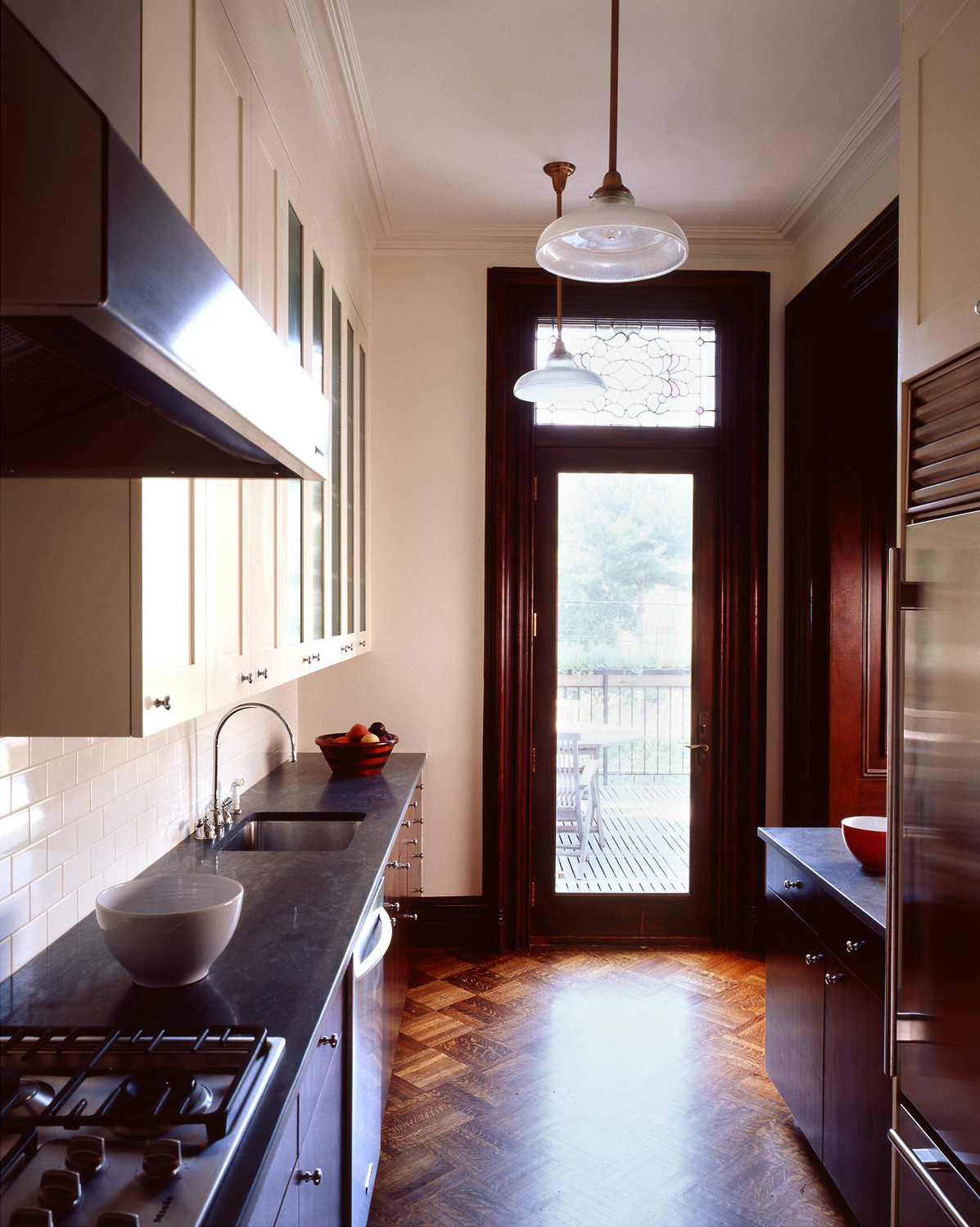 park slope brownstone open functional kitchen