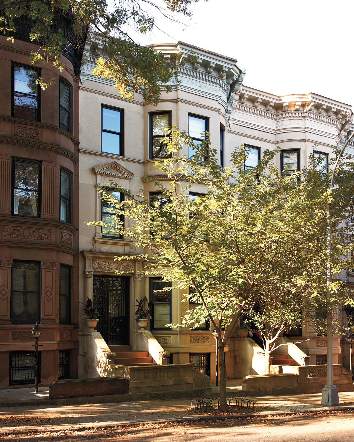 Brooklyn architect carefully restored front facade