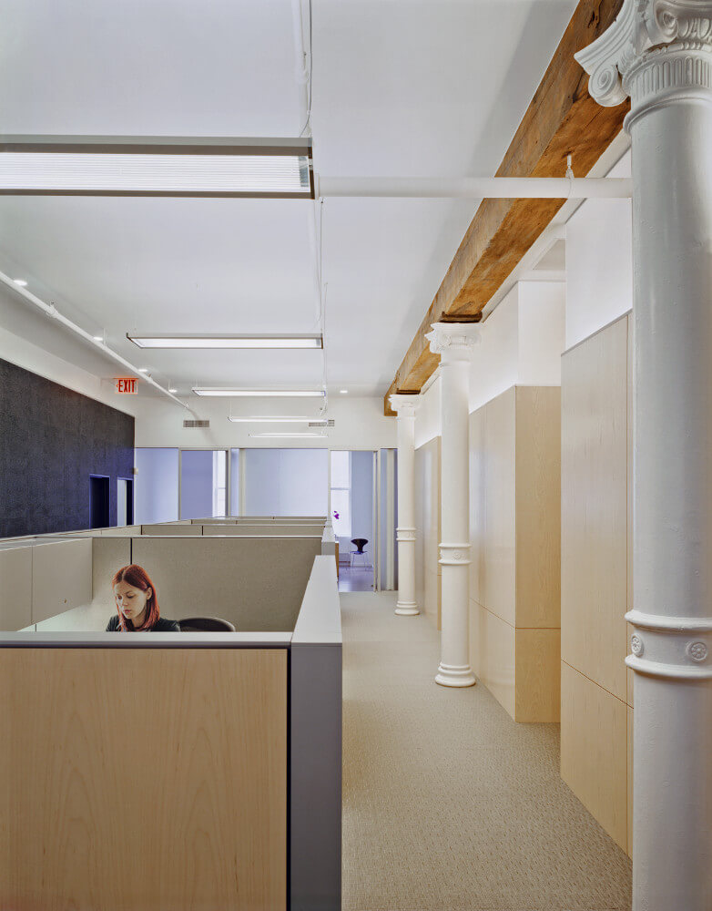 Soho Offices open workspace