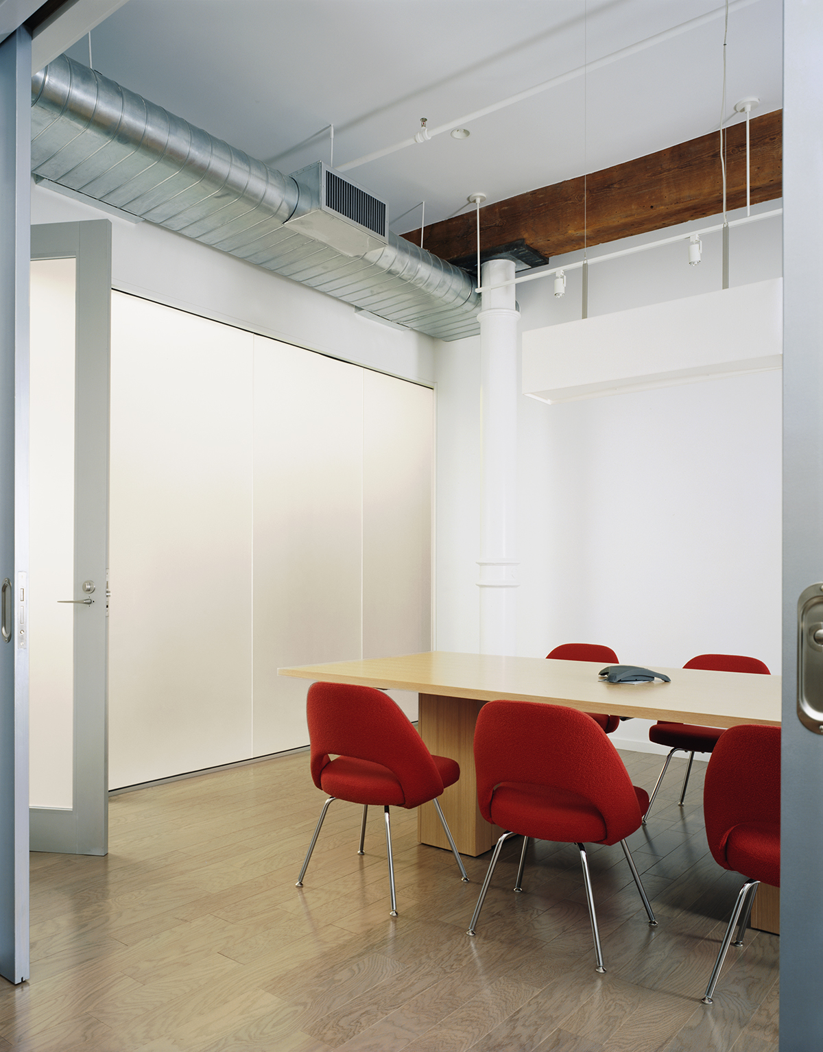 Soho offices conference room