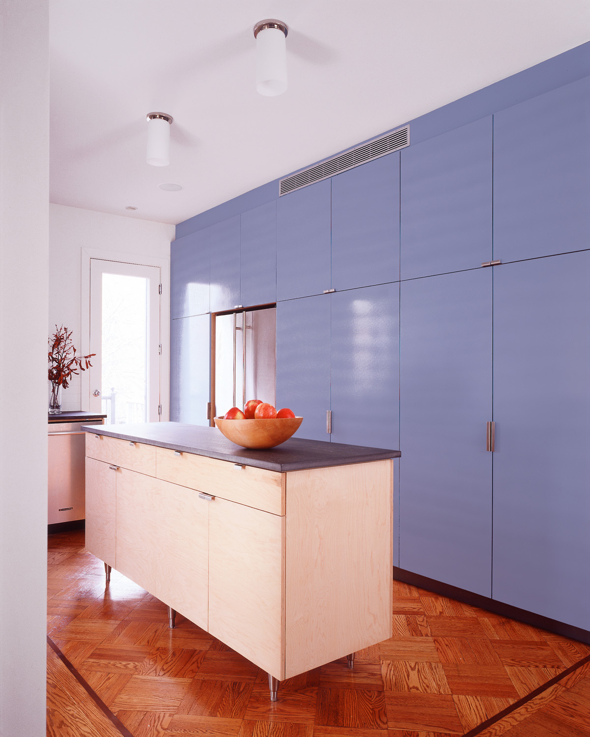 Park Slope row house custom kitchen cabinetry