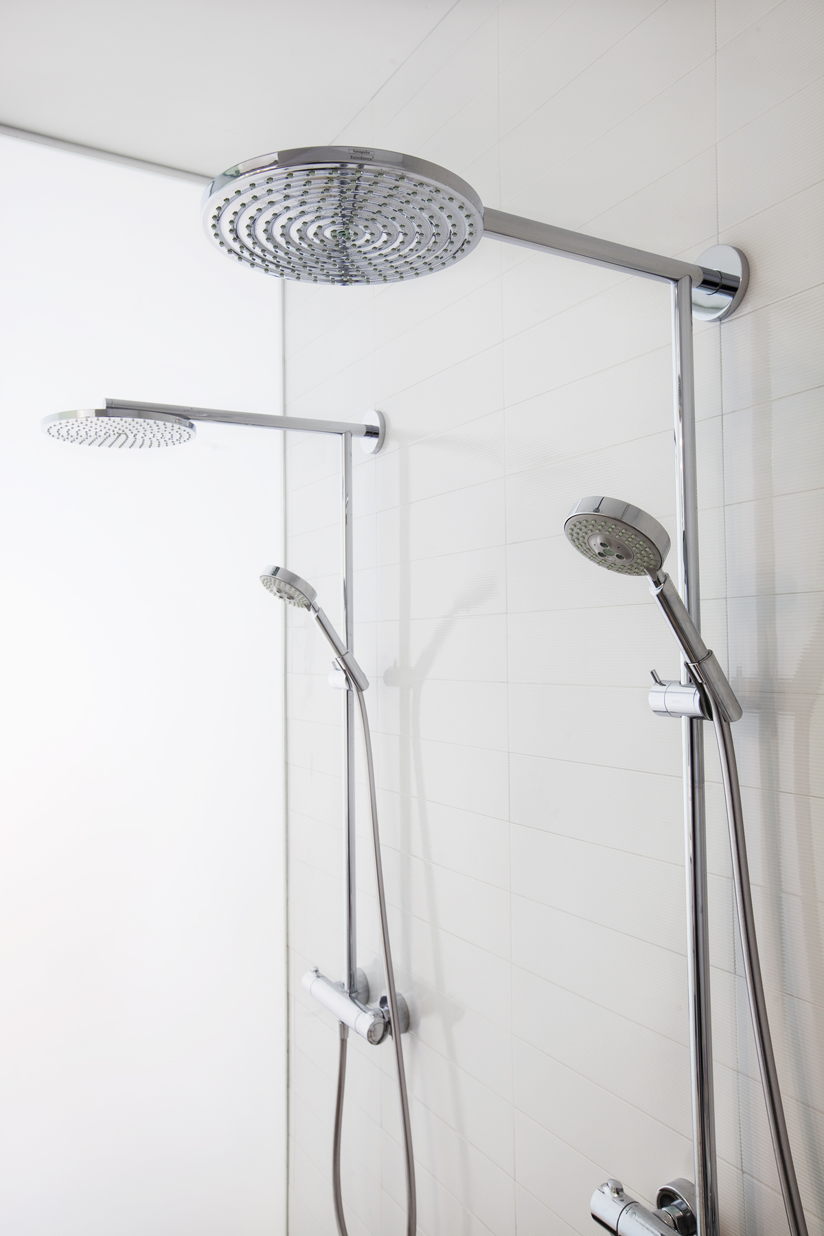 carroll gardens brownstone twin shower sets
