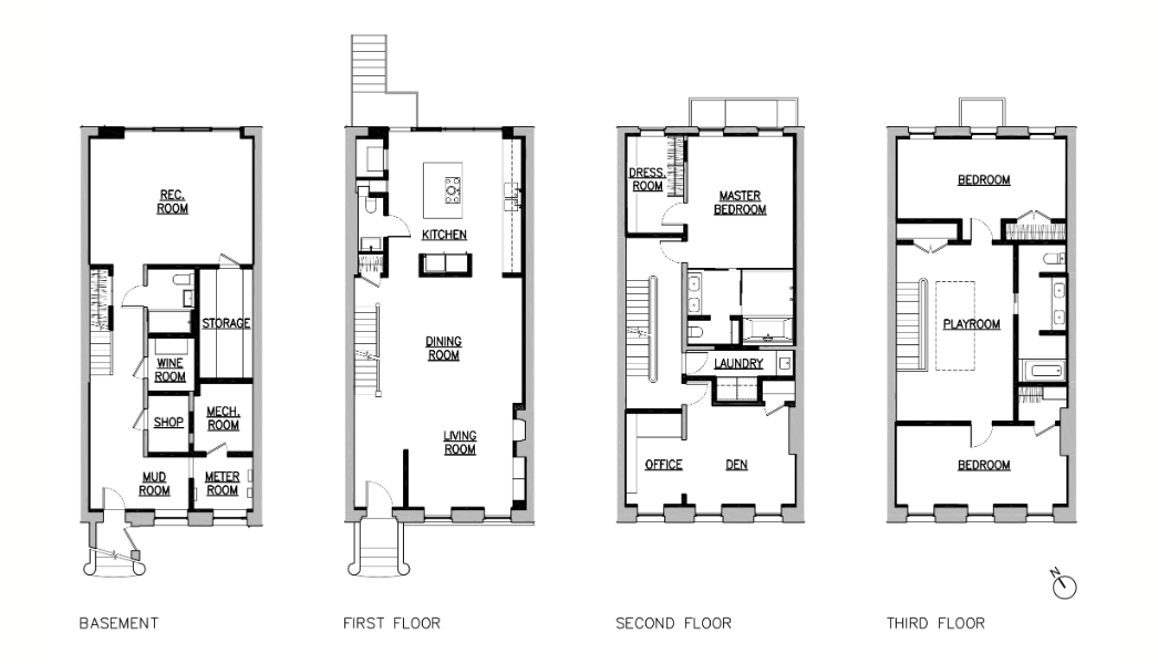 green design strategies - floor plan