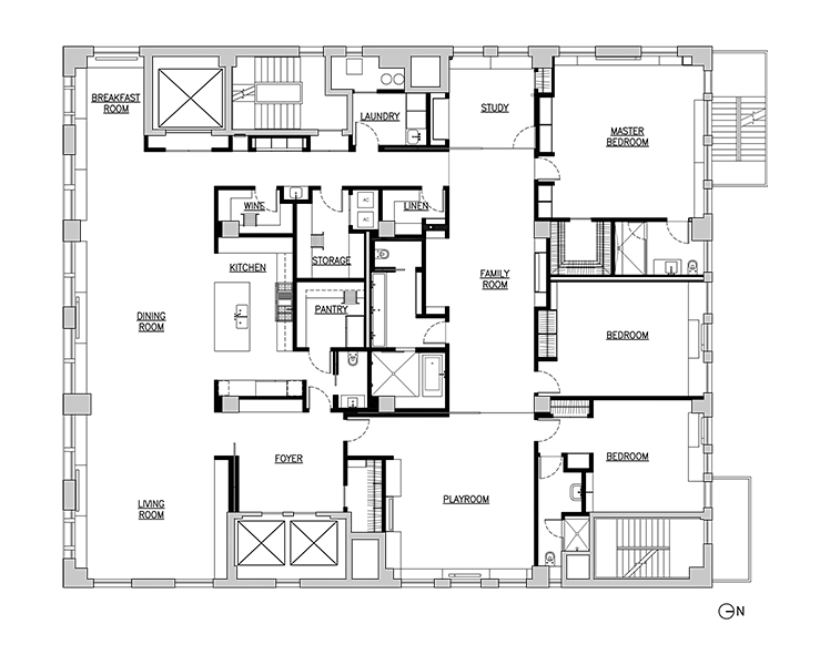 really large loft renovation