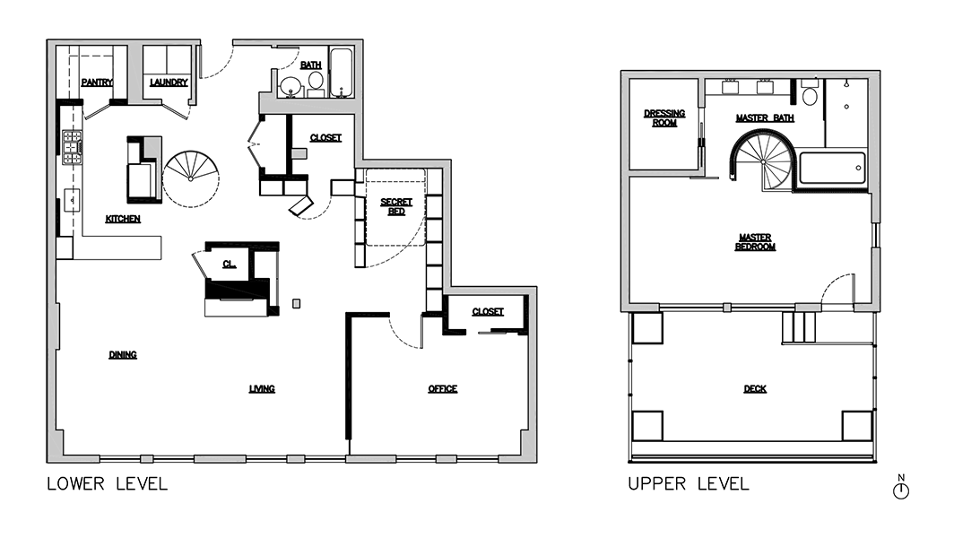 chelsea penthouse floor plans