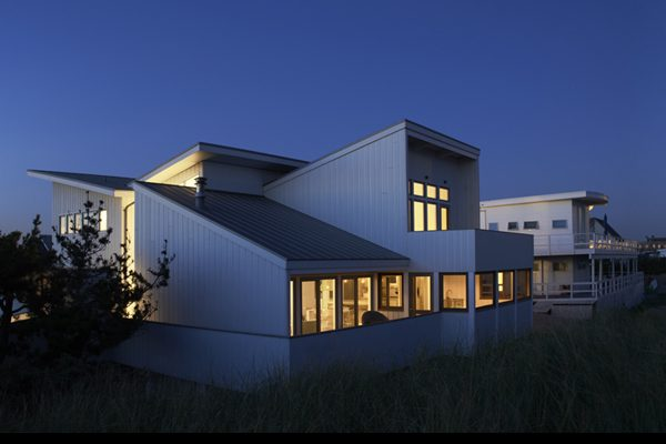 click for more images of Fire Island beach house