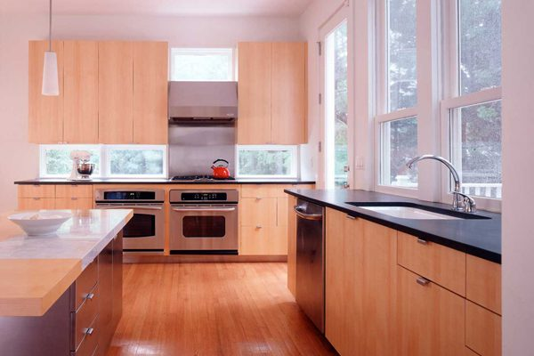 kitchen addition to this house in Montclair