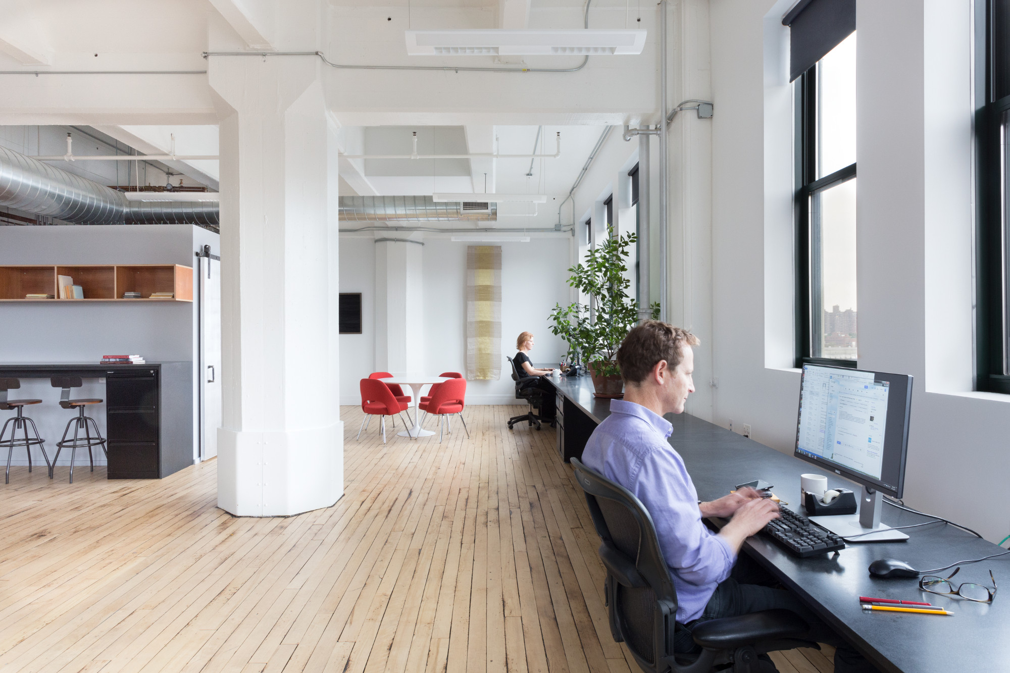 Delson or Sherman Architects' own Brooklyn offices