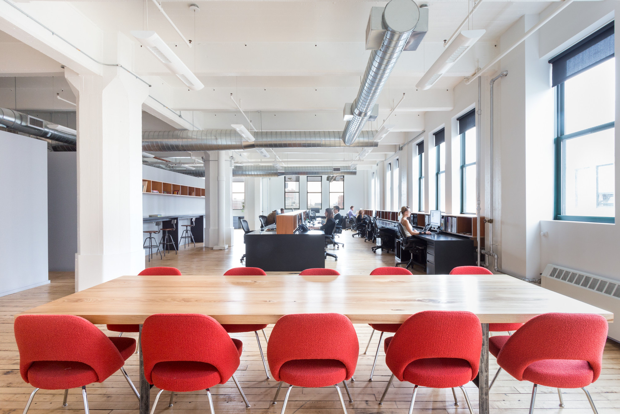 the Brooklyn offices of Delson or Sherman Architects