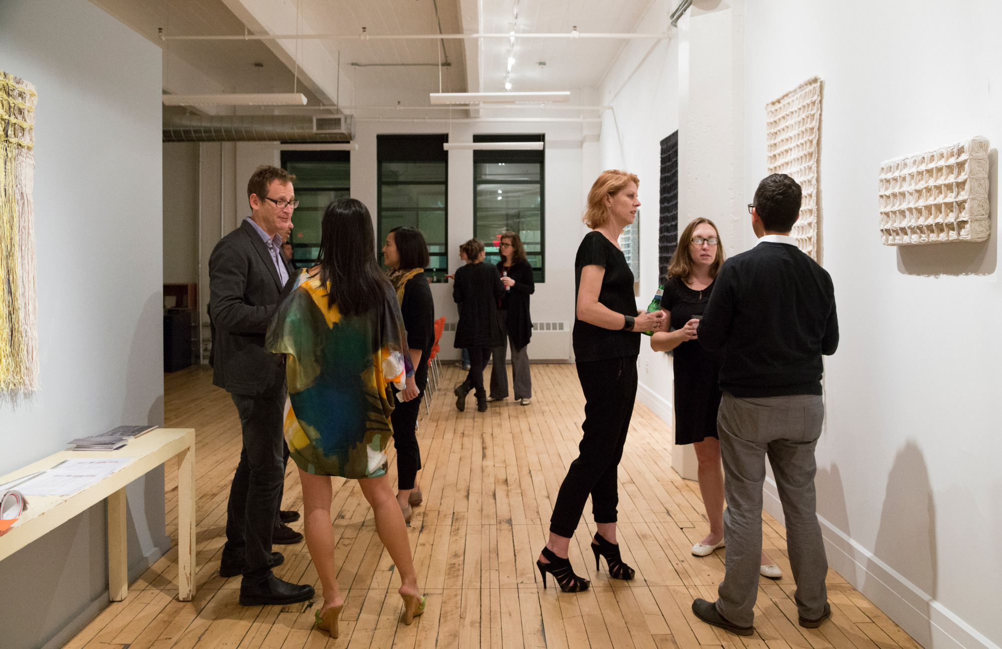 Architects' own Brooklyn offices art opening