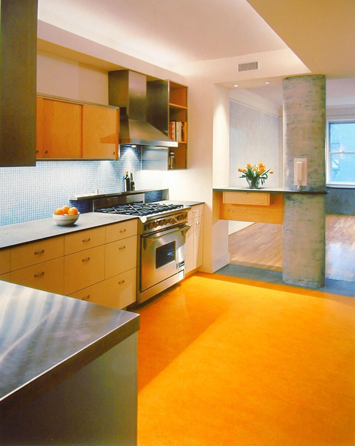 Upper West Side apartment kitchen