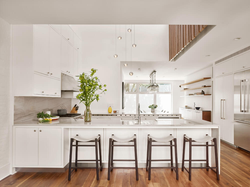 Delson Or Sherman Architects Pcthe Owners Of This Wood Framed Row House Are Glad They Renovated