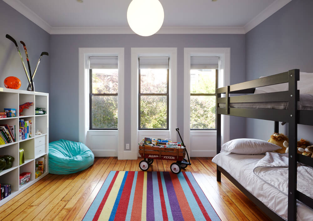 prospect heights addition kid's bedroom