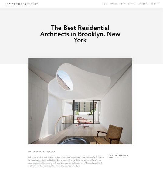 Best Residential Architects in Brooklyn NY
