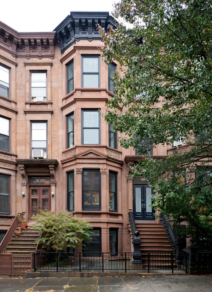 Park Slope addition front facade