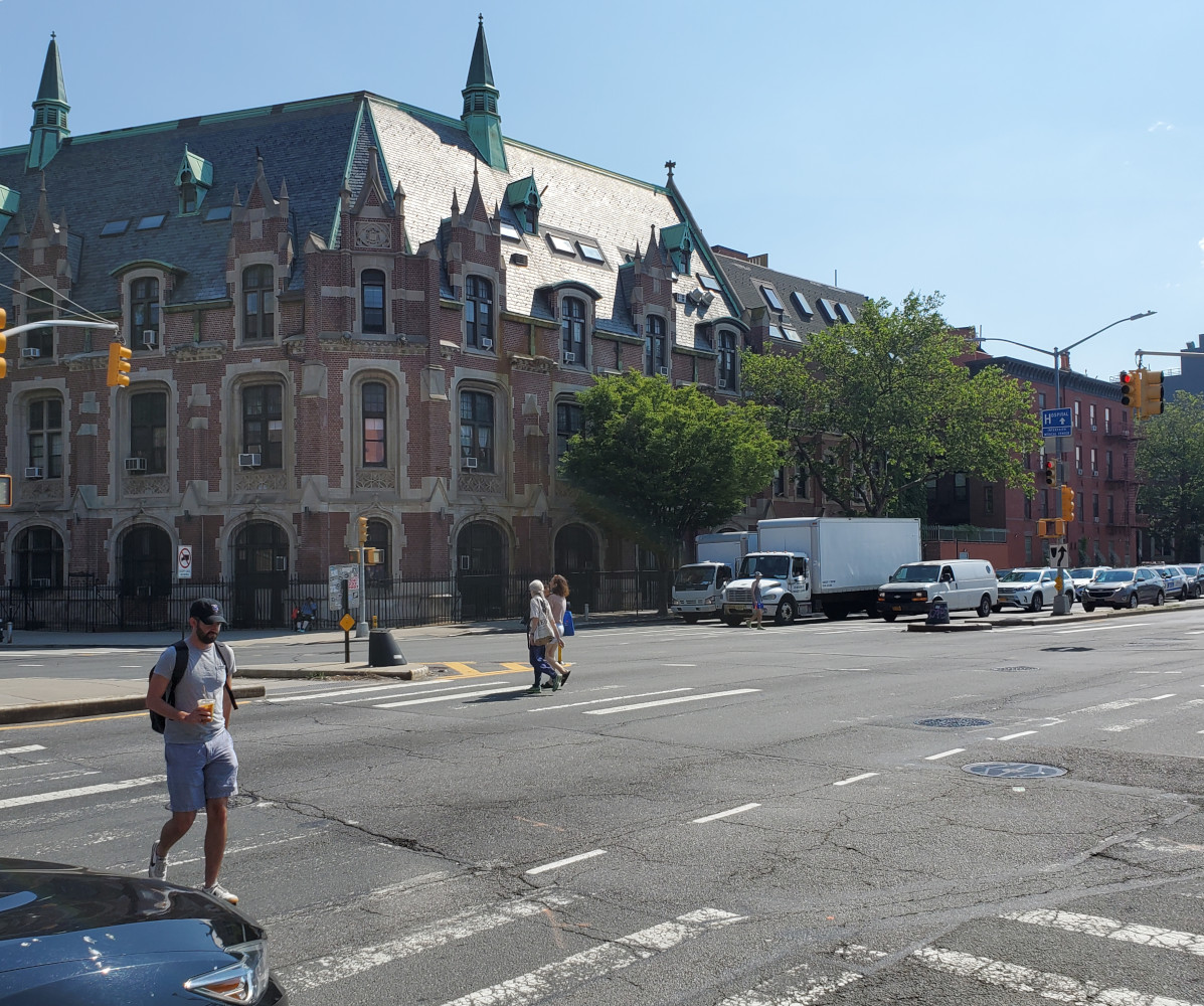 The improved intersection of Washington, Atlantic, and Underhill Avenues